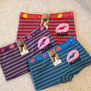 Other - NWT- KISS ME Boy Short Underwear